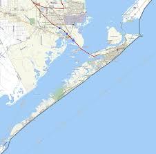 map of galveston galveston map