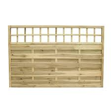 4 Ft Fence Panels With Trellis Fence Panels Garden Fence Panels Wickes Wickes