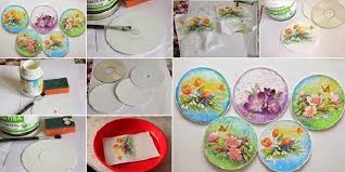 Easter Decorations Next by Turn Old Cds Into Easter Decorations Icreatived