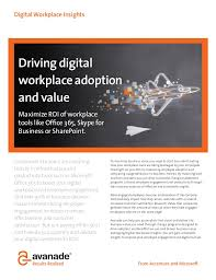 impact digital light shed digital workplace insights driving adoption value