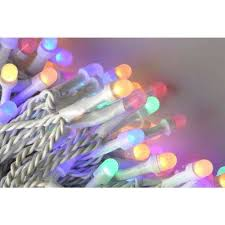 ecosmart 200 led icicle lights novolink christmas lights christmas decorations the home depot