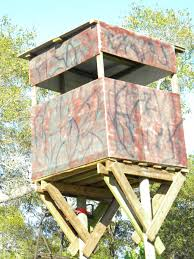 Stand Up Hunting Blinds How To Build A Free Standing Deer Hunting Blind In The Best