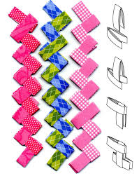 art projects for kids paper chains gum wrapper style kabelky
