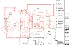 Floor Plan With Electrical Layout Electrical Floor Plans Houses House Interior