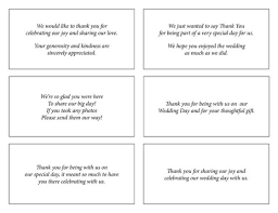 thank you notes for wedding gifts wording thank you cards wedding ideas thank you card simple