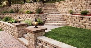 Retaining Wall Ideas For Gardens Garden Walling Ideas Hawe Park