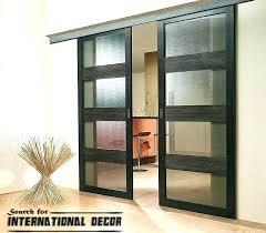 Sliding Door Exterior Sliding Wood Doors Charming Interior Sliding Doors Interior