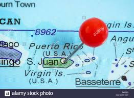 Map Of Puerto Rico And Us by