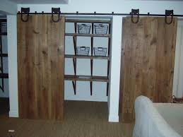 Reclaimed Wood Barn Doors by Home Design Wood Sliding Closet Doors With Mirrors Regard Glass