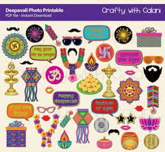 photo booth prop diwali photo booth prop indian festival of light party printable