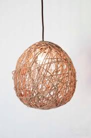 diy pendant light kit diy twine pendant light with faultless starch