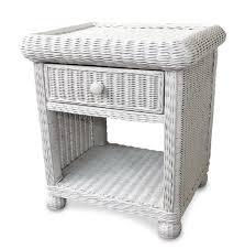 Black Wicker Bedroom Furniture by Wicker 1 Drawer Nightstand Elana Wicker Paradise Secert 2015