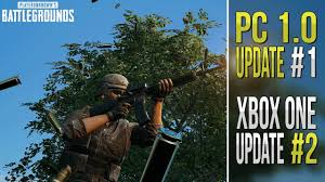 pubg 1 0 patch notes pubg patch notes pc 1 0 update 1 xbox one update 2 youtube