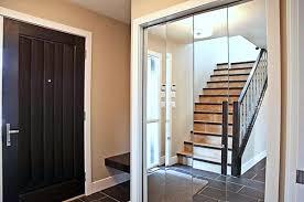 Closets Doors Modern Spaces With Mirrored Closet Doors
