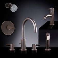 rotunda tub shower set 4 with curved single faucet