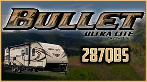 bullet 287qbs travel trailer floor plan