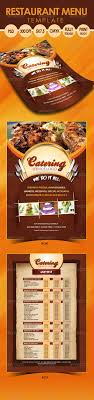 flyer menu template catering menu template flyer catering menu menu templates and
