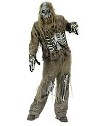 zombie skeleton halloween costume men costumes