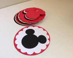 diy mickey birthday banner with fancy font and optional custom