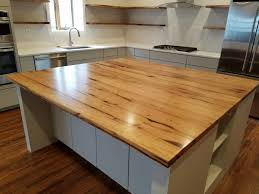 woods for a butcher block kitchen island