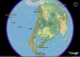 Google Map Of World by Google Mystara