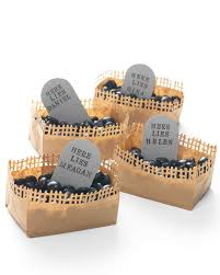 make your own halloween tombstone halloween centerpieces and tabletop ideas martha stewart