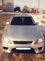 toyota altezza rs200 toyota altezza 1998 1999 2000 2001 седан 1 поколение xe10