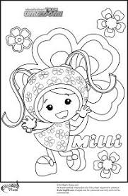 team umizoomi coloring pages geo milli hug bot team