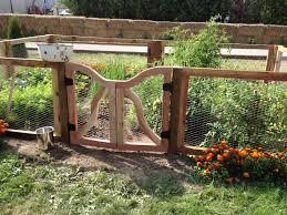garden fence gate gardening ideas