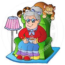 Grandma In Rocking Chair Clipart Grandma Clipart Many Interesting Cliparts