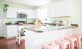 painting kitchen cabinets to look like wood how to paint wood kitchen cabinets with white paint kitchn