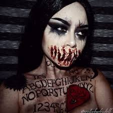 Scary Halloween Costumes 10 Olds 25 Scary Halloween Makeup Ideas Creepy