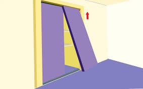 Fixing Sliding Closet Doors How To Install Sliding Closet Doors On Laminate Home Design Ideas