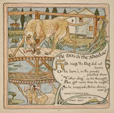 38 the dog and the shadow baby u0027s own aesop walter crane
