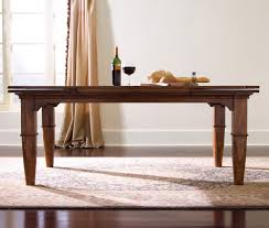 tuscano rectangular refectory leg dining table by kincaid home
