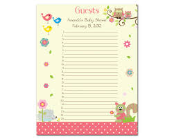 baby shower sign baby shower sign in sheet template paso evolist co