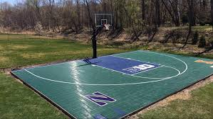 Outdoor Basketball Court Cost Estimate by Sport Court Midwest Sport Court Midwest Sport Court Specialists