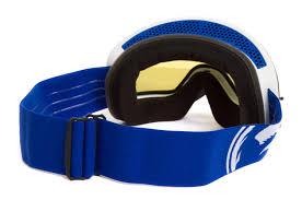 dragon motocross goggles dragon mx gear nfxs frameless blue white split blue ionized