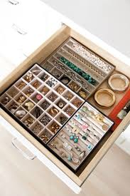 organize stud earrings in drawer jewelry organizer joss pinteres