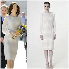 elise gug crown princess wore elise gug lace dress newmyroyals
