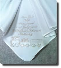 Christening Blanket Personalized Personalized Baptism Blanket