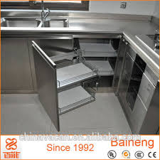 top grade stainless steel water resistant kitchen cabinet made in