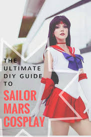 sailor moon cosplay costume sailor mars dress raye up fancy dress