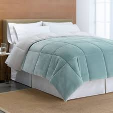 Northern Lights Comforters Cuddl Duds Cozy Soft Faux Mink Down Alternative Reversible