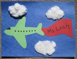 plane art activities for preschoolers