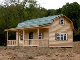 16x24 owner built cabin gambrel cabins for sale in ohio amish buildings