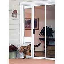 doggy door for sliding glass door sliding door dog door security boss pet screen door in sliding