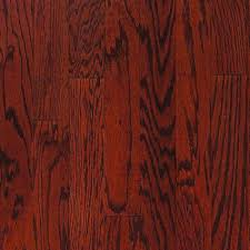 Millstead Cork Flooring Reviews by Millstead Oak Bordeaux 3 4 In Thick X 3 1 4 In Wide X Random