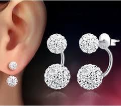 two sided earrings sided stud earrings online sided pearl stud