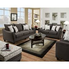Sofa Bed American Furniture American Furniture Manufacturing Sofas Flannel Seal 3853 4040 Sofa